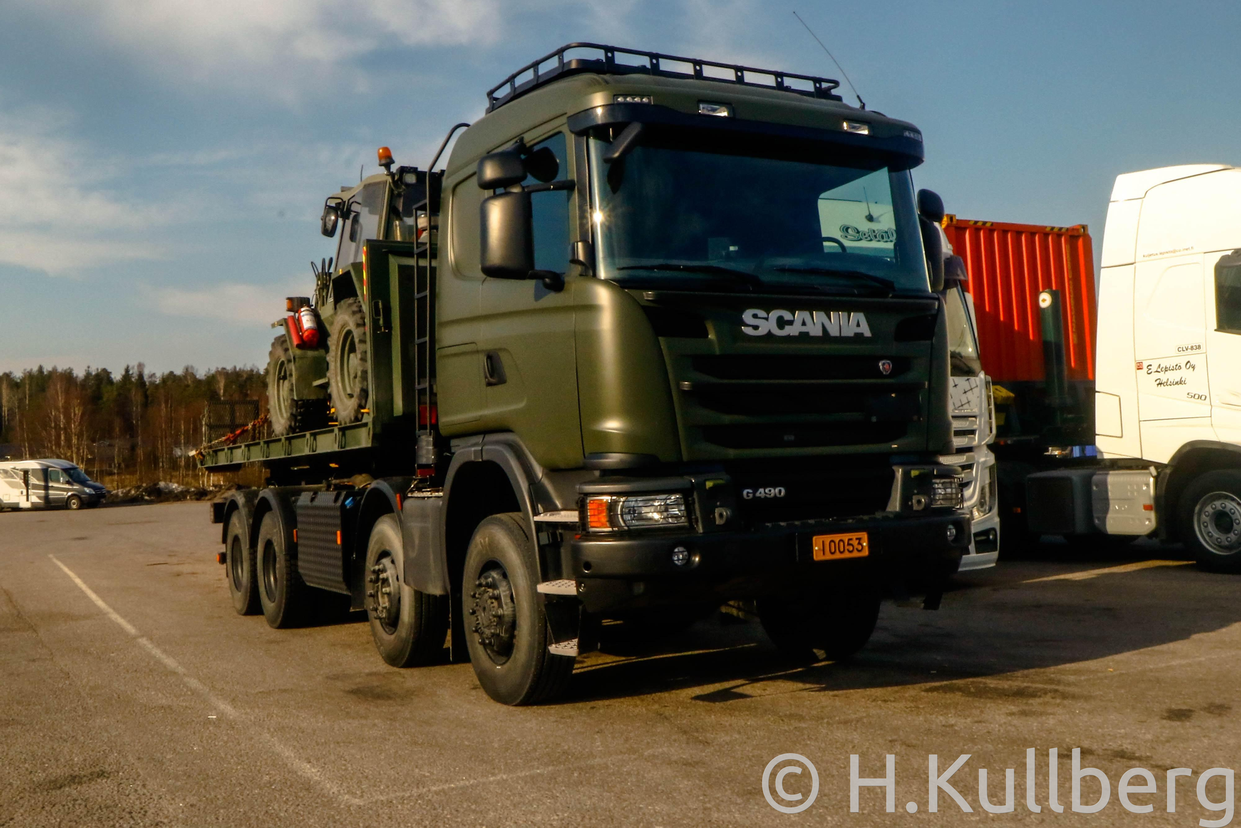 Puolustusvoimat Scania